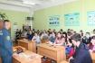 О мерах безопасности – встреча с инспектором Ю.Л. Каргиным