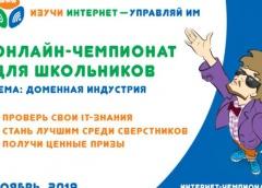 VIII Всероссийский онлайн-чемпионат по игре «Изучи интернет - управляй им»
