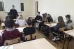 Встреча студентов с инспектором по пропаганде ДТП  Саптеевым С.Н.