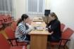 В общежитии прошли соревнования по шашкам