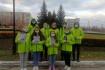 Волонтерами была осуществлена раздача листовок антинаркотической направленности
